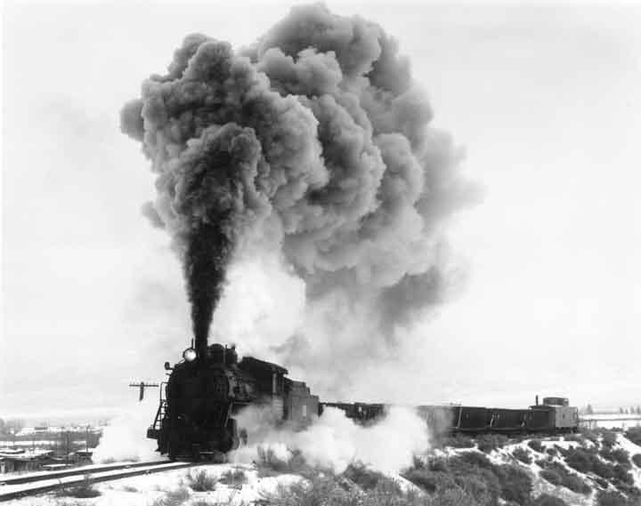 Ore Train on Fill