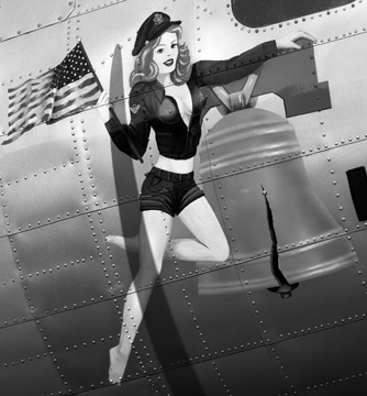 Liberty Bell Nose Art