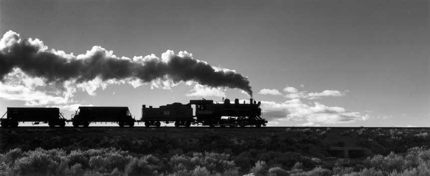 Ore Train Silhouette