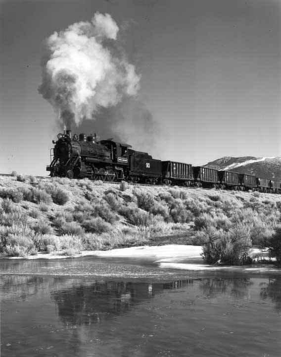 Ore Train at Steptoe Creek