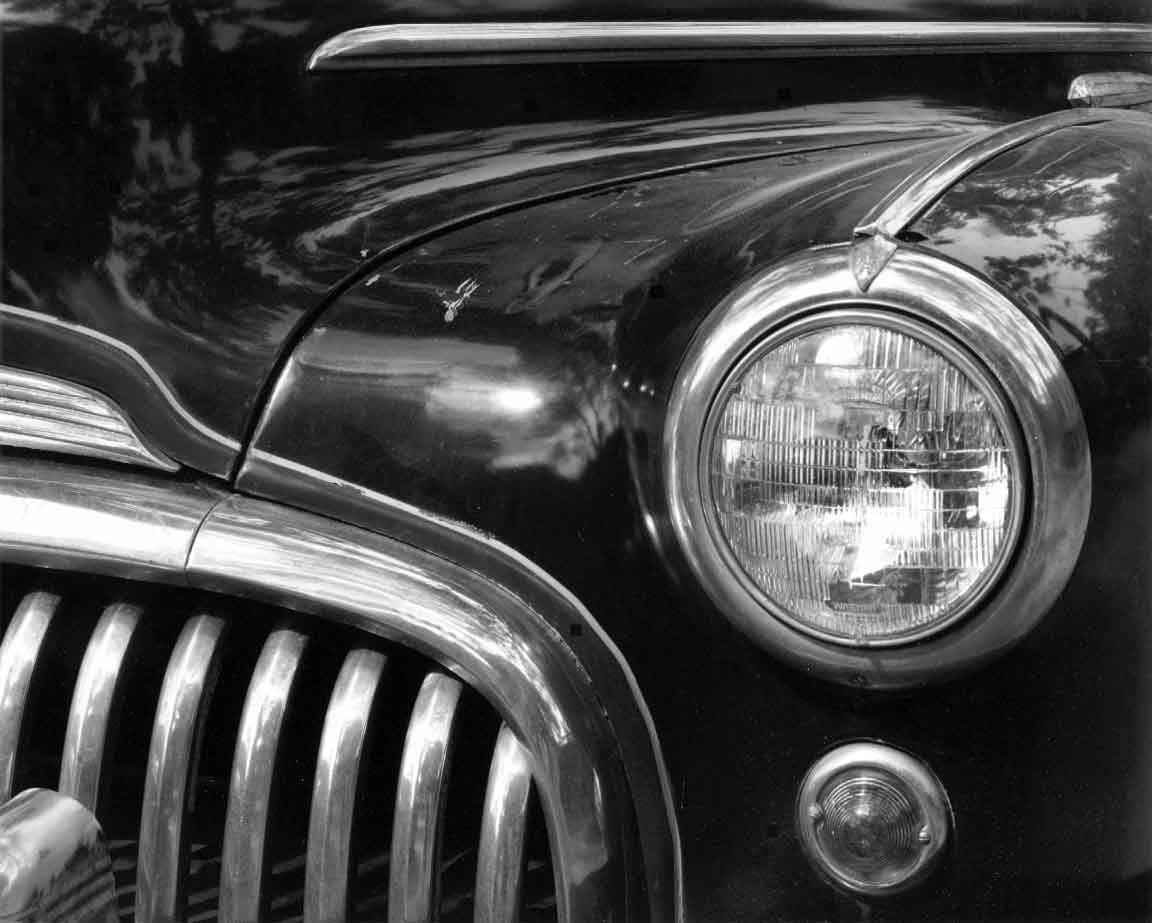 Buick Headlight & Grill, Horizontal