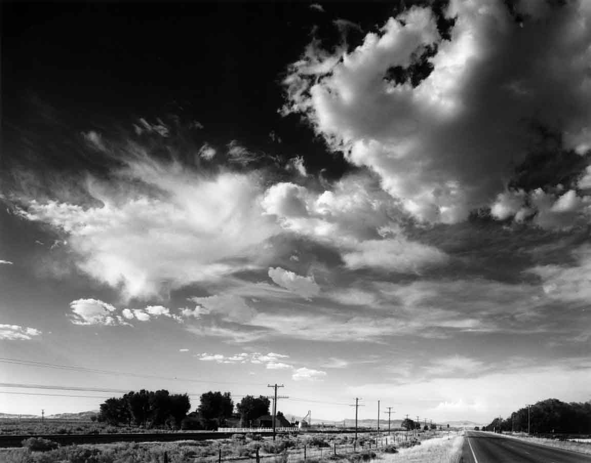 Clouds #1, Highway 50, Utah